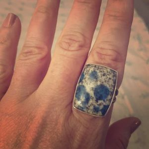 K2 ring in Sterling Silver